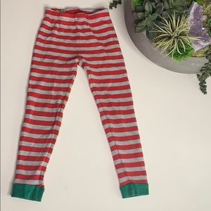 Cater's 3T Holiday stripe thermal waffle knit pant